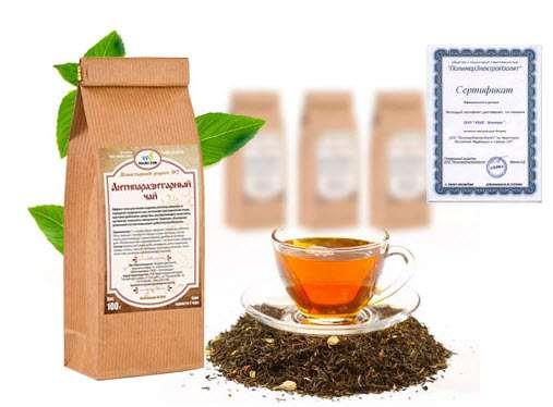 Антипаразитарный Монастырский чай