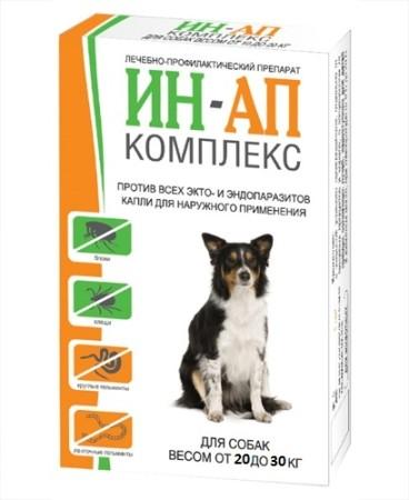 Противопаразитарный препарат для собак