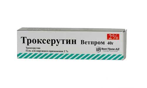 Троксерутин применяется при посттромбофлебитическом синдроме