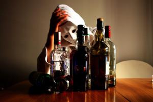 бутылки и образ смерти