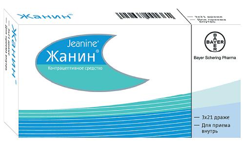 Жанин - гормональный, комбинированный контрацептивный препарат, эстроген-гестагенного вида