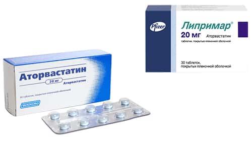 Аторвастатин или Липримар назначают для снижения холестерина в сосудах