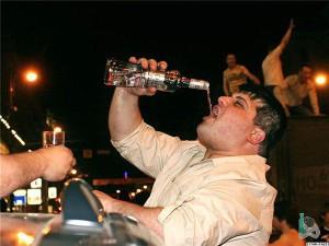 Злоупотребление алкоголем вызывает рак