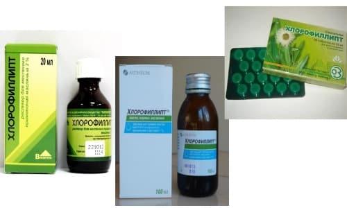Для лечения суставов чаще применяют маслянистый раствор Хлорофиллипта