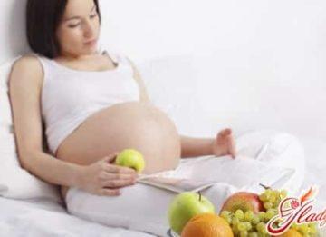 Рацион питания беременной женщины: калорийность, нормы, меню
