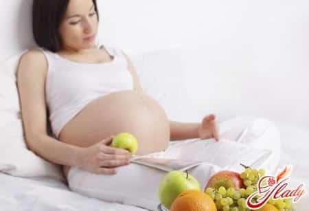 правильная белковая диета при беременности