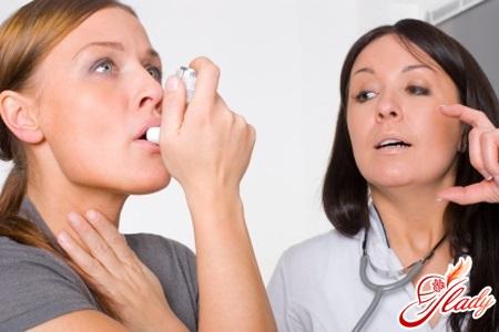 астма и беременность советы