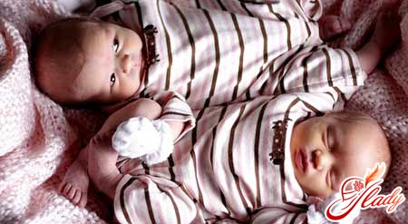 календарь беременности двойней