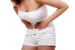 Сильная боль внизу живота - симптом эндометриоза