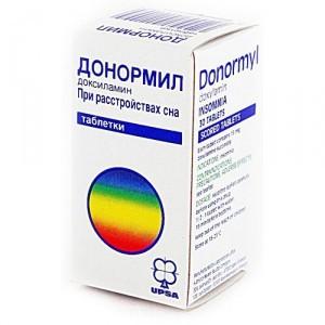 Таблетки Донормил