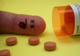 россыпь таблеток