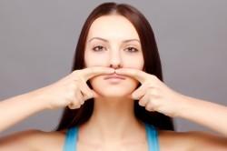 Гимнастика лица для коррекции носа