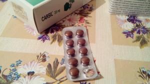 таблетки Карсил