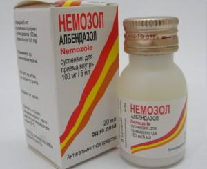Губительный компонент Немозола в борьбе с паразитами Альбендазол