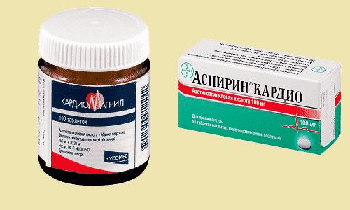 Кардиомагнил и Аспирин Кардио используют для профилактики осложнений при патологиях сердца и сосудистой системы