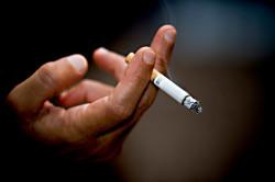 Отказ от курения при выделениях с зеленым оттенком