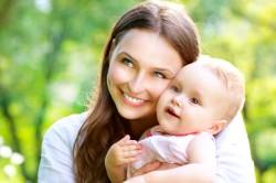 Недавние роды - причина розовых выделений
