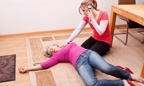 При сочетаниевысокого пульса и высокого давления может произойти потеря сознания