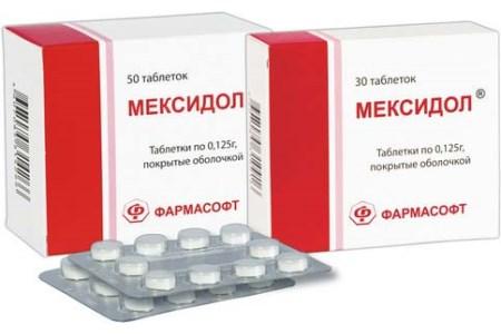 мексидол при шейном остеохондрозе