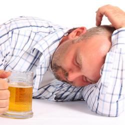 Мужчина с пивом