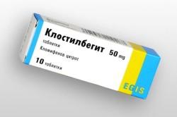 Препарат Клостилбегит для проведения стимуляции овуляции