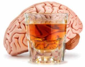 мозг и алклоголь