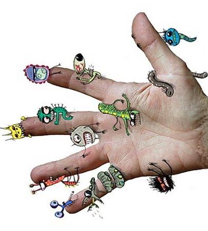 Как правило первоисточником заражения являются грязные руки, и от того как мы относимся к личной гигиене зависит и наше здоровье