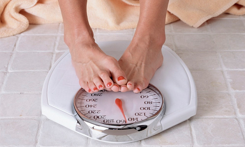 Увеличение веса накануне месячных