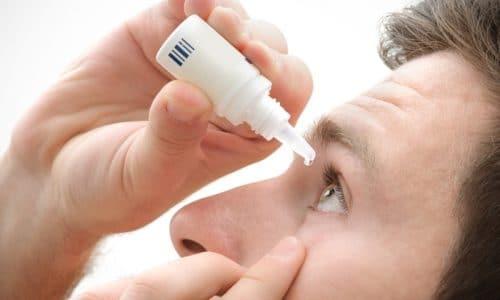 Для устранения патологии применяют специальные капли при повышенном глазном давлении
